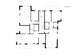 Regelgeschoss Neubau Wohn- und Geschäftshaus von GKS Architekten+Partner AG