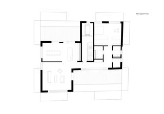 Attikageschoss Neubau Wohn- und Geschäftshaus von GKS Architekten+Partner AG