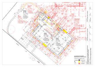 EG Altbau 1:50 Um-/Anbau EFH Stickerhäuschen von mmarch - Mader Marti Architektur ETH