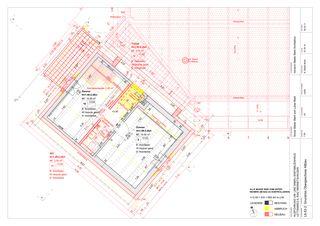 OG Altbau 1:50 Um-/Anbau EFH Stickerhäuschen von mmarch - Mader Marti Architektur ETH
