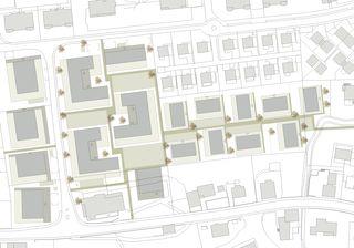 Situation Wohnüberbauung Pannerhof Inwil LU von GKS Architekten+Partner AG