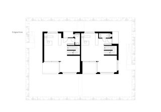 Erdgeschoss Wohnüberbauung Pannerhof Inwil LU von GKS Architekten+Partner AG