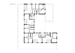 Obergeschoss Wohnüberbauung Pannerhof Inwil LU von GKS Architekten+Partner AG