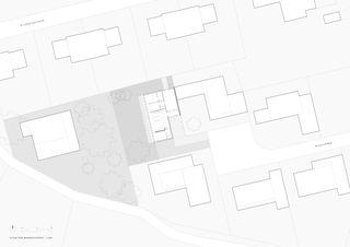 Situation Wohngeschoss Seniorenhaus, Küttigen von Felber Widmer Kim Architekten AG