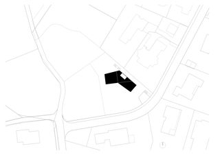 Situation Wohnhaus Pantelweg von on3 architekten · jonas burri · peter schwarz · dipl. arch. fh