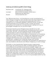 Projektbeschrieb Aufstockung und energetische Sanierung MFH in Zürich-Höngg von BGS & Partner Architekten GmbH Zürich