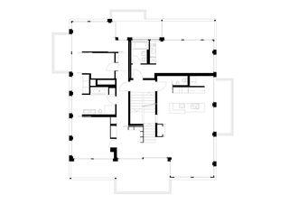 Grundriss Aufstockung und energetische Sanierung MFH in Zürich-Höngg von BGS & Partner Architekten GmbH Zürich