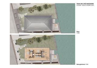 Pläne Haus am Lago Maggiore von Conradin Clavuot