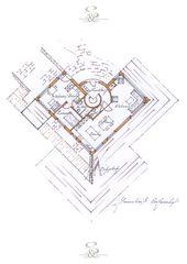 Grundriss EG Chesa da Naiv von Philipp Senn Architecture
