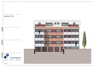 Nord-Est ou sud-est façade  Energetische Sanierung & Umbau MFH in Kreuzlingen de LPB Architekten AG