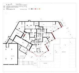 Grundriss Erdgeschoss Sanierung Hochhaus Schiller A von B+B Planer AG