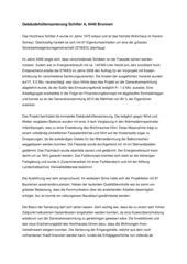 Projektbeschrieb Sanierung Hochhaus Schiller A von B+B Planer AG