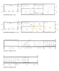 Innenansicht Wohnhaus Rosenberg Altstadtwohnung Winterthur de Rebsamen Nolè Partner Architekten AG
