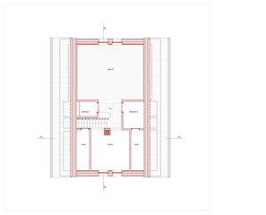 Grundriss DG Hof Bauer in Sassenloh (TG) von Christoph Sauter Architekten AG