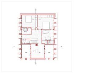 Grundriss OG Hof Bauer in Sassenloh (TG) von Christoph Sauter Architekten AG