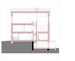 Schnitt B Hof Bauer in Sassenloh (TG) von Christoph Sauter Architekten AG