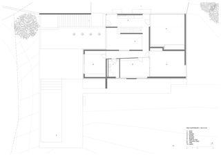 Grundriss OG Villa familiale von Bureau d'architectes Giorla & Trautmann SA