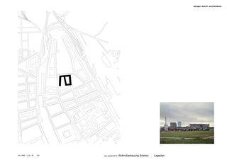 Situation Erlentor von Morger + Dettli Architekten AG