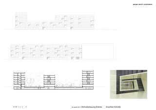 Ansichten / Schnitte Erlentor von Morger + Dettli Architekten AG