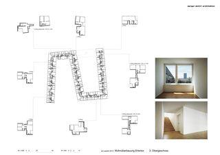 Grundriss OG3 Erlentor von Morger + Dettli Architekten AG