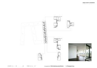 Grundriss OG6 Erlentor von Morger + Dettli Architekten AG