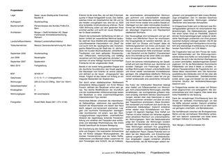Projektbeschrieb Erlentor von Morger + Dettli Architekten AG