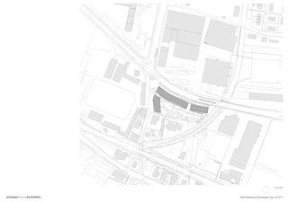 Situationsplan Wohnüberbauung Schutzengel von Leutwyler Partner Architekten AG