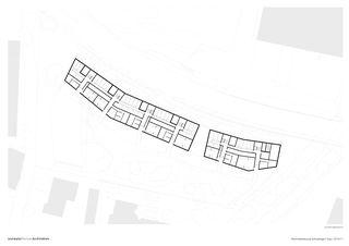 Grundriss Untergeschosse Wohnüberbauung Schutzengel von Leutwyler Partner Architekten AG