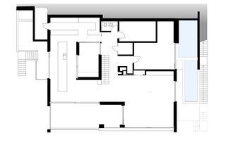 Ebene 2 Doppeleinfamilienhaus  von Architekturbüro Mathias Odermatt