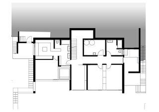 Ebene 1 Doppeleinfamilienhaus  von Architekturbüro Mathias Odermatt