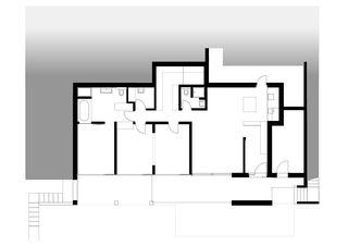 Ebene 0 Doppeleinfamilienhaus  von Architekturbüro Mathias Odermatt