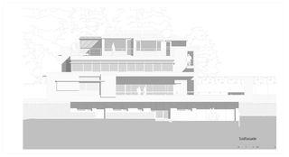 Südfassade Haus Trottenweg von Lüscher-Lüscher Architekten