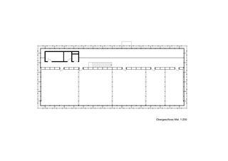 Grundriss Obergeschoss Gewerbezentrum Punto Bregaglia, Vicosoprano von Architekturbüro Renato Maurizio