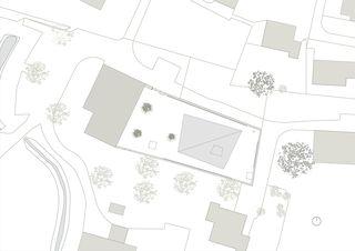 Situation Ausstellungspavillon Winkelriedhaus, Stans - Museumserweiterung von Unit Architekten AG