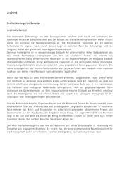 Projektbeschrieb Dreifachkindergarten von GREDIG WALSER ARCHITEKTEN AG