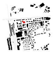 Lageplan Hauptsitz ÖKK von Bearth & Deplazes Architekten AG<br>Valentin Bearth – Andrea Deplazes – Daniel Ladner