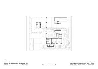 EG Hauptsitz ÖKK von Bearth & Deplazes Architekten AG<br>Valentin Bearth – Andrea Deplazes – Daniel Ladner