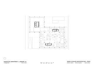 OG1 Hauptsitz ÖKK von Bearth & Deplazes Architekten AG<br>Valentin Bearth – Andrea Deplazes – Daniel Ladner