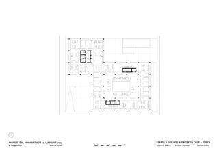 OG4 Hauptsitz ÖKK von Bearth & Deplazes Architekten AG<br>Valentin Bearth – Andrea Deplazes – Daniel Ladner