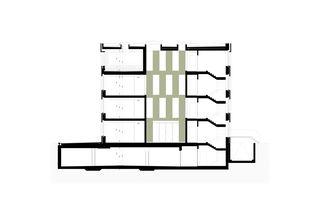 Ein kompaktes Volumen mit überraschendem Innenleben. Bürogebäude Triesen de Bargetze + Partner Architekten SIA Anstalt