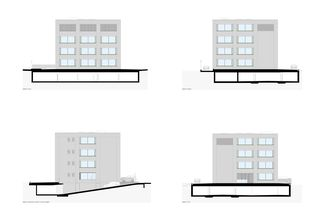 Fassaden Bürogebäude Triesen von Bargetze + Partner Architekten SIA Anstalt