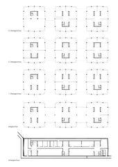 Grundrisse Schulhaus Albisriederplatz von BGS & Partner Architekten GmbH Zürich
