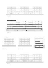 Ansichten und Schnitte Schulhaus Albisriederplatz von BGS & Partner Architekten GmbH Zürich