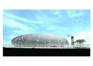 Facciata 1 (progetto) COC - Centro Commerciale Chiasso - Chiasso de Ostinelli & Partners architetti