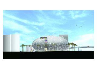 Facciata 2 (progetto) COC - Centro Commerciale Chiasso - Chiasso de Ostinelli & Partners architetti