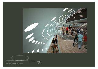Immagine interna COC - Centro Commerciale Chiasso - Chiasso de Ostinelli & Partners architetti