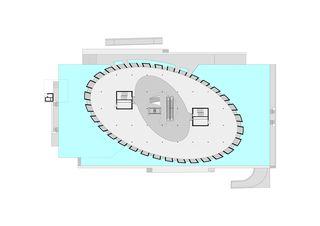 Pianta piano terra COC - Centro Commerciale Chiasso - Chiasso de Ostinelli & Partners architetti