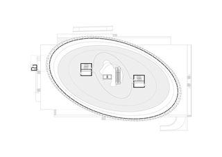 Pianta piano tipo COC - Centro Commerciale Chiasso - Chiasso de Ostinelli & Partners architetti