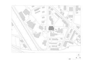 Situation BSV Berufsfachschule Visp von Bonnard Woeffray architectes fas sia