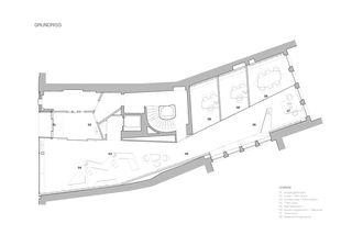 Grundriss Inside-Out: Kundenhalle, Raiffeisen von Bonnard Woeffray architectes fas sia